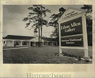 Historic Images - 1978 Press Photo Lafayette's Carriage House, an Ethan Allen Gallery in Gretna