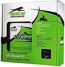 Arctic Cat 4 Stroke 1049cc Triple Snowmobile Oil Change Kit OEM 6639-529