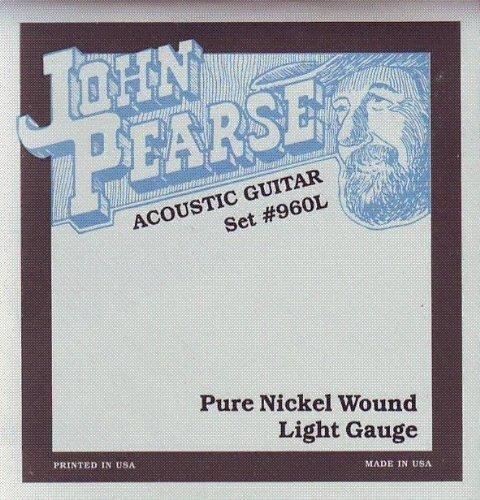 John Pearse Akustikgitarre Pure Nickel Wound, .012 - .054, 960L