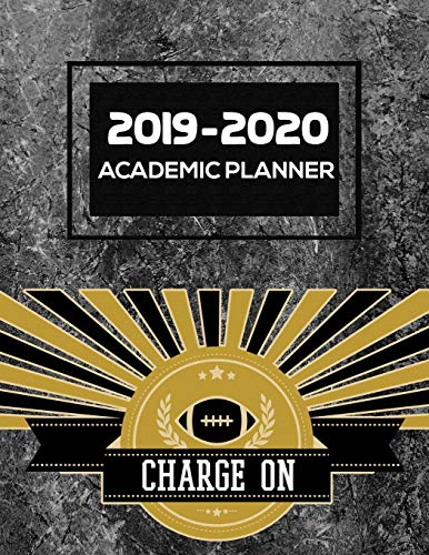 Charge On: 2019-2020 Academic Planner | Weekly | Monthly | 8.5