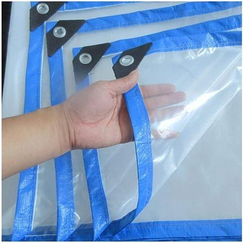 XJLG-Bache Tissu imperméable Bache, couverture extérieure de prougeection extérieure de couverture imperméable de bache imperméable transparente de parasol, bache de prougeection de fleur verte Tente de c