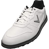 Callaway Men's Chev SL Golf Shoes (White/Black)