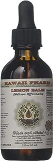 Lemon Balm Alcohol-FREE Liquid Extract, Lemon Balm (Melissa officinalis) Dried Leaf Glycerite 2 oz