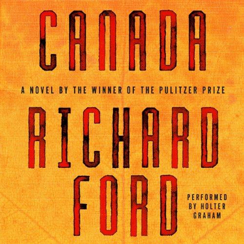 Canada audiobook cover art