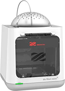 XYZプリンティング 3Dプリンター [ダヴィンチnano w] wifi対応 組立済み完成品 オートキャリブレーション機能付き 4.7kg小型 造形サイズ120×120×120mm 本体カバー付き安全 入門機種 3FNAWXJP00B