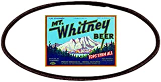 9f6560a4 CafePress - California Beer Label 7 Patches - Patch, 4x2in Printed Novelty  Applique Patch