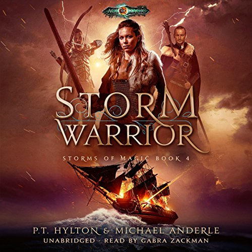 Storm Warrior: Age of Magic - a Kurtherian Gambit Series audiobook cover art