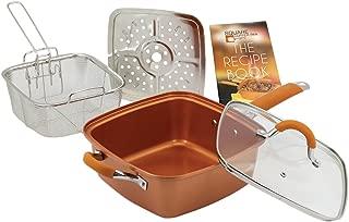 Inventel SP-MC 2 SP-MC02 Square Copper Pan Pro, 9 1/2