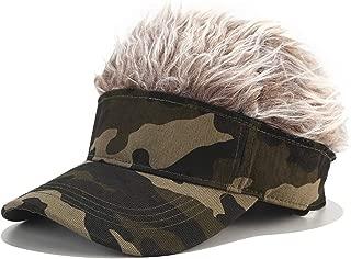 CNF CO Novelty Hair Visor Cap Adjustable Baseball Hat