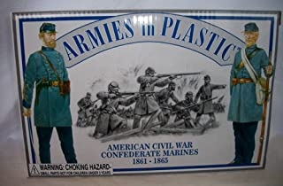 American Civil War Confederate Marines 1861-1865 1/32 scale by Armies in Plastic, Offered by Classic Toy Soldiers, Inc