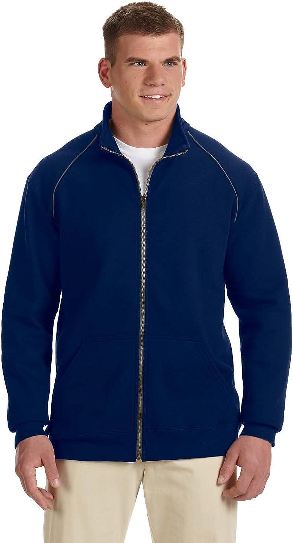 Gildan 92900 Unisex Adult Premium Cotton 9 oz. Ringspun Fleece Full-Zip Jacket