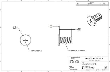 Pozi Countersunk Machine Screws A2 Stainless Steel Posi Csk Din 965 Z