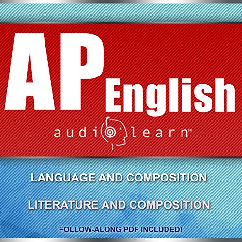 AP English AudioLearn - Complete Audio Review for Advanced Placement English audiobook cover art