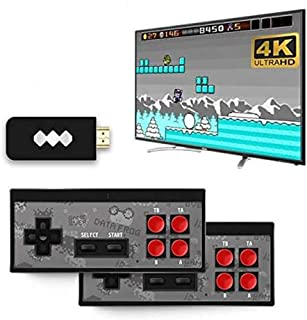 Data Frog USB Wireless Handheld TV Video Game Console Build In 750 Classic Game 8 Bit Mini Video Console Support AV/HDMI O...