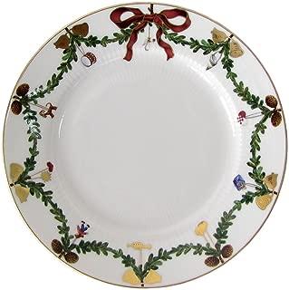 Royal Copenhagen Star Fluted/Xmas 1017455 Plate Flat 19 cm Porcelain Multi-Coloured
