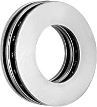 uxcell AXK1528 2AS Needle Roller Thrust Bearings with Bearing Washers, 15mm Bore Diameter, 28mm OD, 4mm Total Thickness