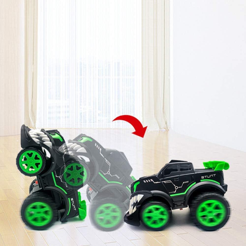 ZYMSD Stunt Car RC Toy Drift véhicules Debout Spin Off Road Monster Truck électrique Enfants Toy Cars pour garçons et Filles Anniversaire Red