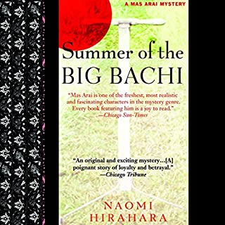 Summer of the Big Bachi audiobook cover art