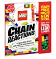 Klutz Lego Chain Reactions Science & Building Kit, Age 8 by Klutz Press