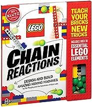 Klutz Lego Chain Reactions Science & Building Kit, Age 8, Multicolor