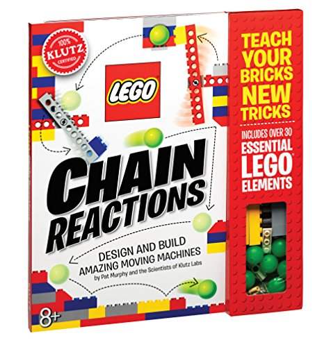 Image of the Klutz Lego Chain Reactions Science & Building Kit, Age 8, Multicolor
