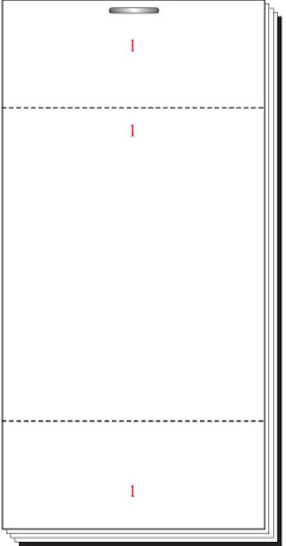 Deli Supplies Kellnerin Pads Stil 45 Einzelbogen Besteellen Pad Überprüfen Restaurant Cafe – delisupplies© 100 Stück B00BHRLFDQ   Verrückter Preis