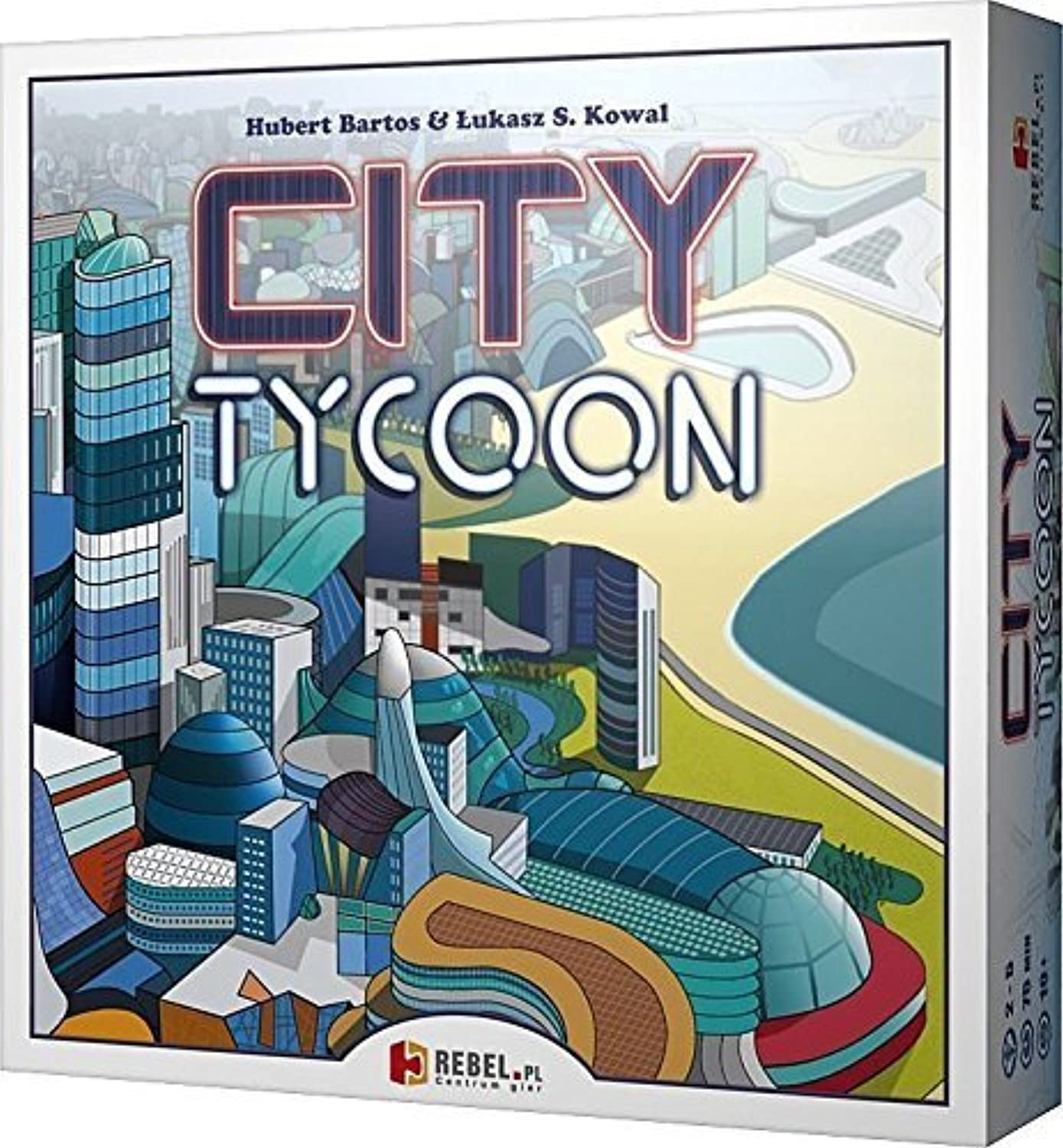 City Tycoon Board Game by REBEL Sp. z o.o.