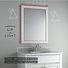 Delta 27 in. x 41 in. (L1) Rectangular Frameless TRUClarity Deluxe Glass Mirror