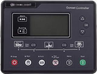 XIAOFANG Fangxia Store SL6120 AMF Conjunto de generador Diesel Controlador LCD Inicio automático Start GENSET ATS Box Terminal Panel de Carga Alternador Parte 6120