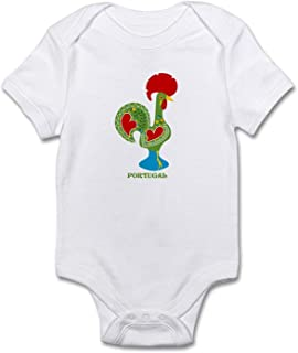 Traditional Portuguese Rooster Baby Bodysuit Shirt for Newborn Baby