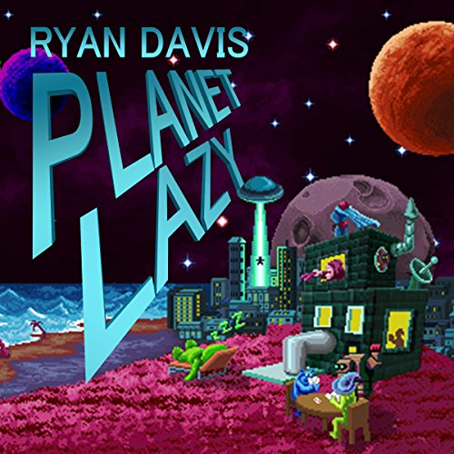 Planet Lazy audiobook cover art