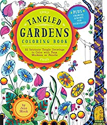 tangled gardens by jane monk one sided book