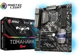 MSI Arsenal GAMING Intel 8th Gen LGA 1151 M.2 DVI HDMI USB 3.1 Gigabit LAN CFX ATX Motherboard (Z370 TOMAHAWK)