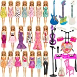 SOTOGO 30 Pieces Doll Clothes an...