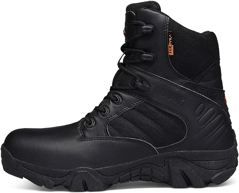 RSHENG Mnner tragen Verschlei Outdoor-Militrstiefel taktische Stiefel Gre sanddicht wasserdicht Desert Combat Stiefel Herrenschuhe