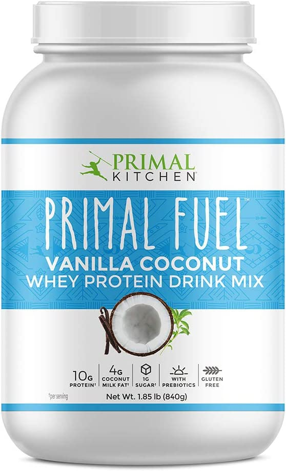 Primal Kitchen - Coco Bajo-Carb de la vainilla de la sacudida del reemplazo de la comida del combustible principal - 2libras.