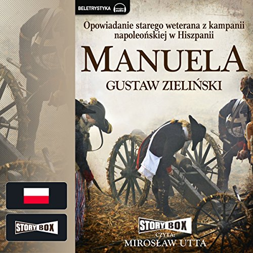 Manuela audiobook cover art