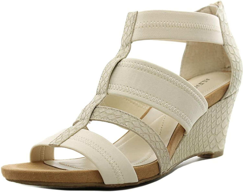 Alfani Mavenn Women US 5 Ivory Wedge Sandal