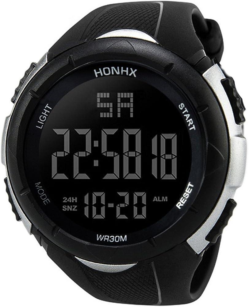 Brand Cheap Sale Venue Balakie Mens LED Waterproof Wristwatch Digital Spo Japan's largest assortment Military Army