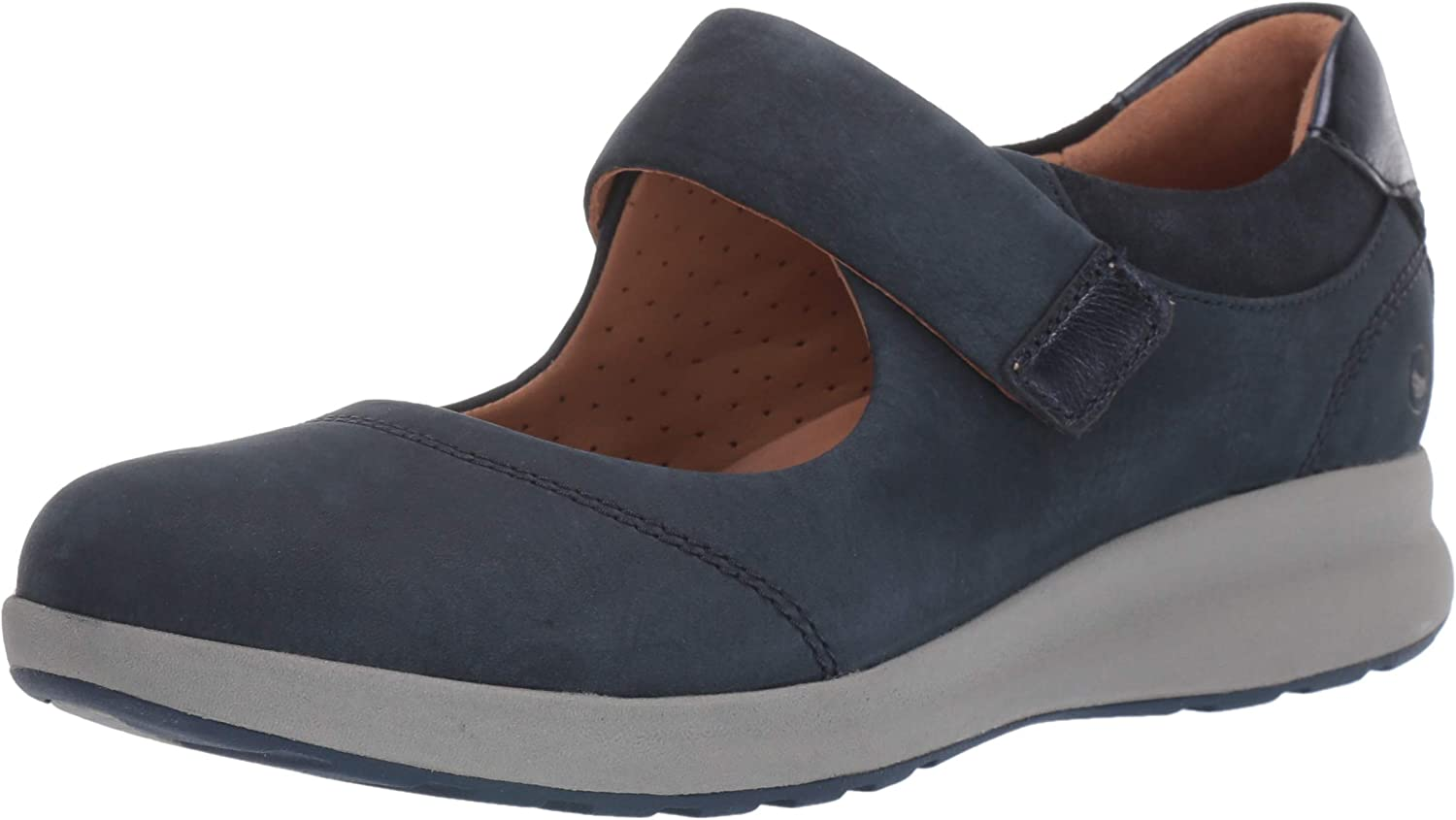 Clarks Women's Un Adorn Mary Flat National uniform Chicago Mall free shipping Strap Jane