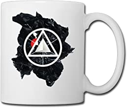 Fashion Ceramic Travel Cup Dead By Sunrise Out Of Ashes Band Too Late Coffee Mug Travel Coffee Mugs