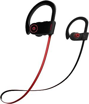 Otium Sports Waterproof IPX7 with Mic,HD Stereo in-Ear Earphones