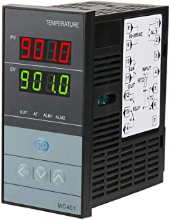 PID Temperature Controller, PID Thermostat Relay 85-265V Digital Temperature Controller -199-1300 Digital Thermostat Relay...