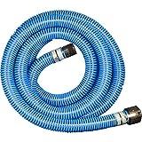 "Apache 98106503 PVC Suction Poly CX King Nipple Hose, 40 psi, 2"" Inside Diameter, Blue"