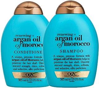 Shampoo OGX Argan Oil of Morocco 385ml e Condicionador OGX Argan Oil of Morocco 385ml