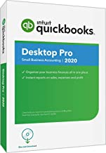 QuickBooks Desktop  Pro 2020  Accounting Software for Small Business with Amazon Exclusive Shortcut Guide [PC Disc]