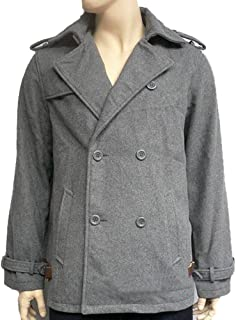 edward cullen grey pea coat