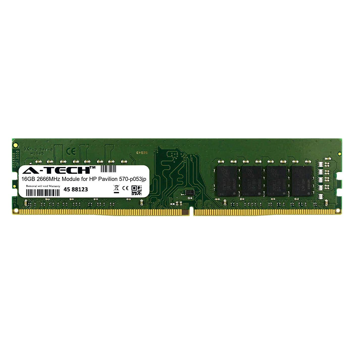 A-Tech 16GB Module for HP Pavilion 570-p053jp Desktop & Workstation Motherboard Compatible DDR4 2666Mhz Memory Ram (ATMS311083A25823X1)