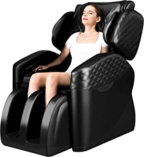 Massage Chairs by Ootori, Zero Gravity Massage Chair, Full Body Massage Chair with Lower-Back Heating, Bluetooth Speaker and Foot Roller
