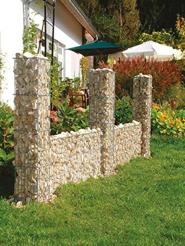 Mauergitterset H. 40 cm für Steinsäulen Restposten